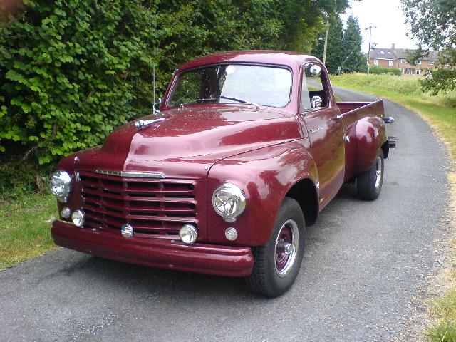 Studebaker Truck Fenders : World classic autos picture gallery studebaker